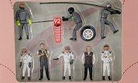 Figuren Boxencrew: Porsche GT Team - 24h Le Mans