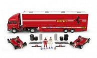 Ferrari + Fiat Renntransporter-Set: Scuderia Ferrari