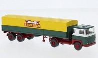 Scania 111 Alupritschensattelzug