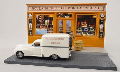 Peugeot Diorama: 203 Kasten