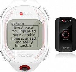 Polar - RCX3 GPS - bílá