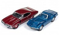 Set 2er-Set:1968 Chevrolet Corvette und 1968 Oldsmobile 442 W-30