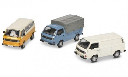 VW 3er-Set: 40 Jahre T3