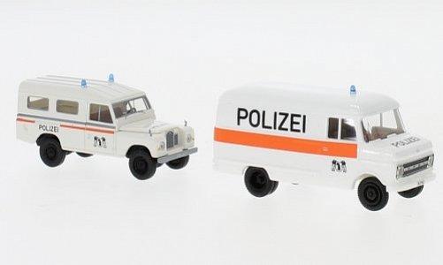 Set 2er-Set: Land Rover und Opel Blitz