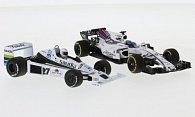 Williams 2er-Set: Ford FW06 Jones 1978 + FW40 Massa 2017