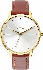 NIXON A108-1425 Kensington Leather Saddle 37mm 5ATM