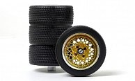 Zubehor Raderset - 4 x Tuning Leichtmetallfelgen