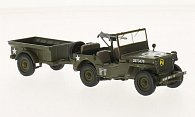 Jeep Willys MB mit Anhanger