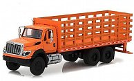 International WorkStar Platform Stake Truck