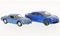 Alpine Renault 2er Set: A110 1973 & 2017