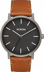 Nixon A1058-2494 Porter Leather 40mm 5ATM