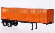 Anhanger 40-Container mit 2-Achs-Auflieger