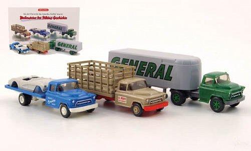 Chevrolet 3er-Set: Die Chevrolet LKW-Klassiker