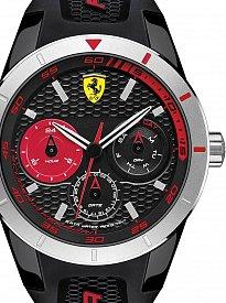 Scuderia Ferrari 0830254 Red Rev T 44mm 3ATM