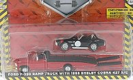 Ford F-350 Ramp Truck mit 1965 Shelby Cobra 427 S/C