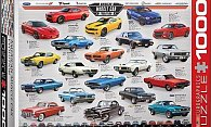 Puzzle 1000 Teile: American Muscle Car Evolution