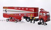 Fiat + Ferrari 2er-Set: 170 Renntransporter + 126CK