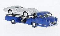 Mercedes Renntransporter + Mercedes W196