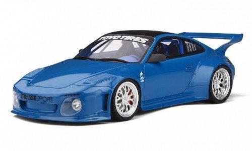 Porsche 911 (997) Slant Nose Old & New Body Kit