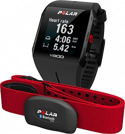 Polar - Polar V800 GPS černý - Special Edition - s hrudním pásem