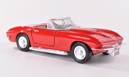 Motormax Chevrolet Corvette Stingray Convertible (C2) 1:24