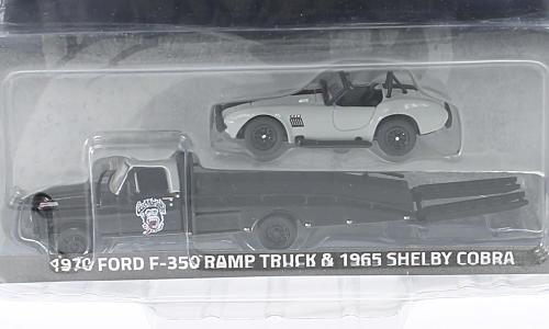 Ford F-350 Ramp Truck 1:64, Greenlight